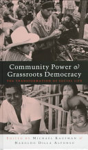 Community Power and Grassroots Democracy