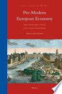 Pre Modern European Economy