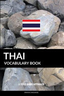 Thai Vocabulary Book: A Topic Based Approach