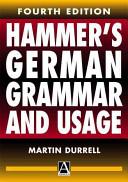 Hammer s German Grammar and Usage
