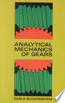 Analytical Mechanics of Gears