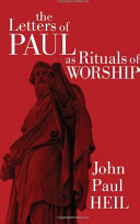 download ebook the letters of paul as rituals of worship pdf epub