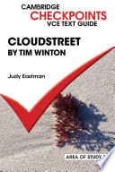 Ebook Checkpoints VCE Text Guides: Cloudstreet by Tim Winton Epub Judy Eastman Apps Read Mobile