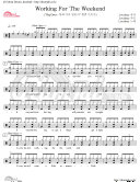 download ebook [drum score]working for the weekend-loverboy pdf epub