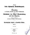 Chronologisches Register zu sämmtlichen Bänden, 786-1414