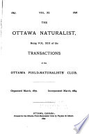 The Ottawa Naturalist