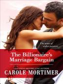 The Billionaire s Marriage Bargain