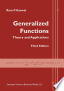 Generalized Functions