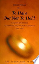 To Have But Not to Hold