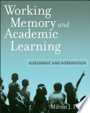 Working Memory And Academic Learning