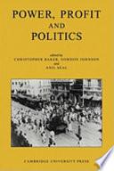 Power  Profit and Politics  Volume 15  Part 3