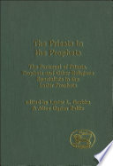 The Priests in the Prophets Book PDF