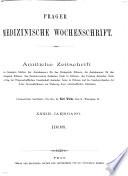 Prager Medicinische Wochenschrift