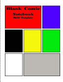 Blank Comic Notebook Multi-Template