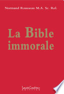 illustration du livre La Bible immorale