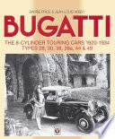 Bugatti     The 8 cylinder Touring Cars 1920 34