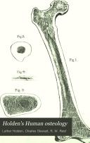 Holden s Human osteology