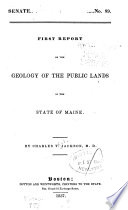 Report on the Geology of the State of Maine Pdf/ePub eBook