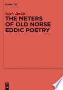 The Meters of Old Norse Eddic Poetry
