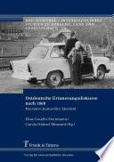 Ostdeutsche Erinnerungsdiskurse nach 1989