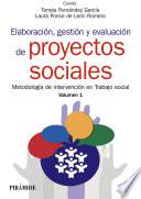 Elaboraci  n  gesti  n y evaluaci  n de proyectos sociales