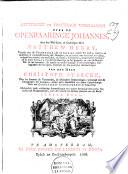 Letterlyke en practikale verklaring over de Openbaaringe Johannes
