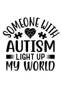 Someone With Autism Light Up My World
