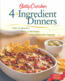 Betty Crocker Four ingredient Dinners
