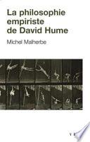illustration du livre La philosophie empiriste de David Hume