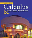 Mcgraw Hill Ryerson Calculus Advanced Functions