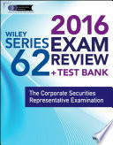 Wiley Series 62 Exam Review 2016   Test Bank