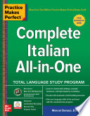 Practice Makes Perfect Complete Italian All In One
