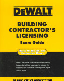 Dewalt Building Contractor s Licensing Exam Guide