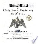 Amtsblatt der Regierung zu Magdeburg