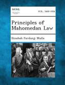 Principles of Mahomedan Law