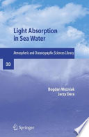 Light Absorption in Sea Water And Absorbents In Seawaters With