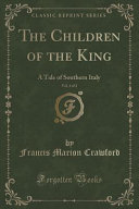 download ebook the children of the king, vol. 1 of 2 pdf epub