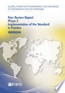 Global Forum on Transparency and Exchange of Information for Tax Purposes Global Forum on Transparency and Exchange of Information for Tax Purposes Peer Reviews  Morocco 2016 Phase 2  Implementation of the Standard in Practice