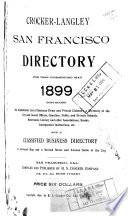 Crocker Langley San Francisco Business Directory