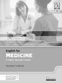 English for Medicine in Higher Education Studies
