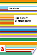 The mistery of Marie Roget  low cost   Limited edition