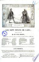 Les sept infans de Lara drame en cinq actes par M. Felicien Mallefille