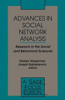 Advances in Social Network Analysis