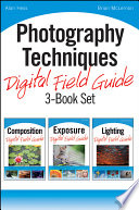 Photography Techniques Digital Field Guide 3 Book Set