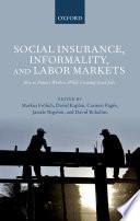 Social Insurance  Informality  and Labor Markets