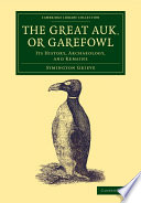 The Great Auk Or Garefowl