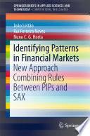 Identifying Patterns In Financial Markets