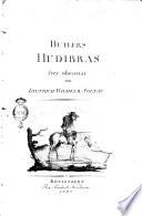 Butlers Hudibras frey übersetzt von Dietrich Wilhelm Soltau