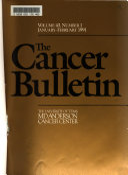 The Cancer Bulletin