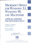 Microsoft Office for Windows 95  Window 3 1  and Macintosh